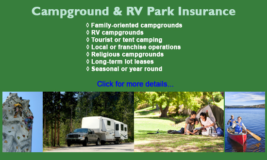 campground rv park insurance program