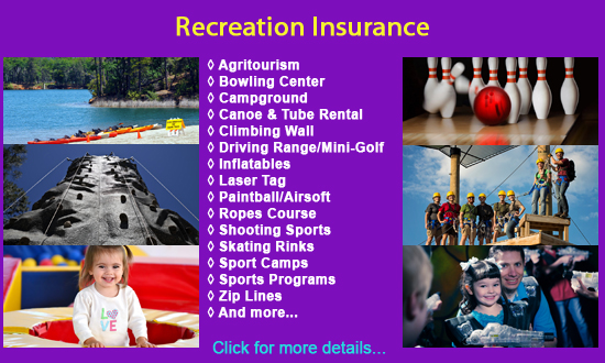 Recreation Insurance