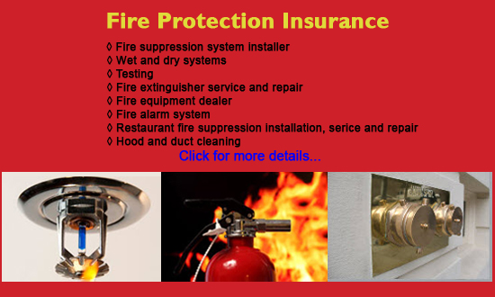 fire suppression insurance