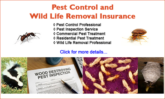 pest control nuisance wildlife removal insurance